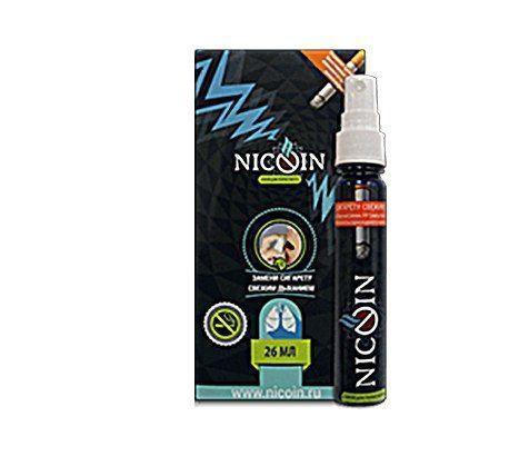 Спрей Nicoin (Никоин) от курения