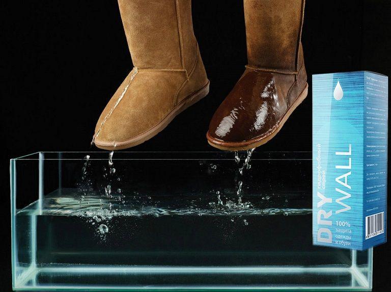 Спрей для защиты обуви и одежды от грязи Drywall