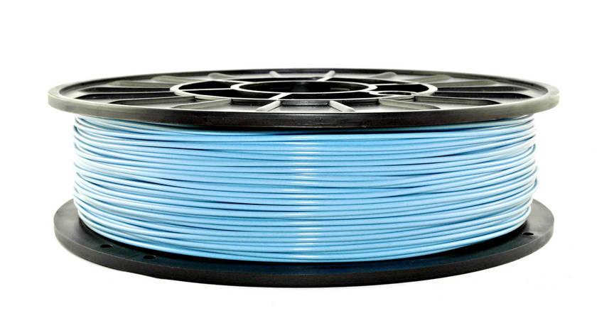 Нить PLA (ПЛА) пластик для 3D печати, Небесно-голубой (1.75 мм/0.75 кг), фото 2