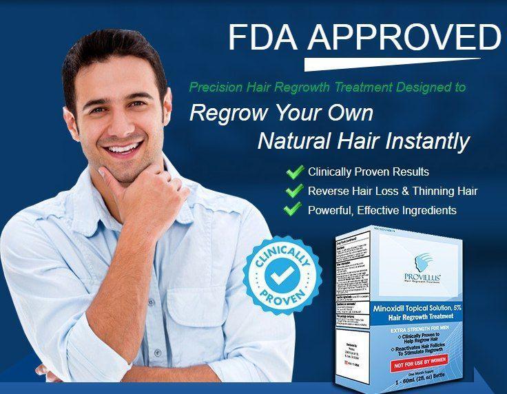Средство от мужского облысения Provillus Hair Loss Treatment