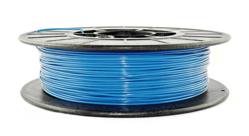 Нить PLA (ПЛА) пластик для 3D печати, Темно-голубой (1.75 мм/0.5 кг), фото 2