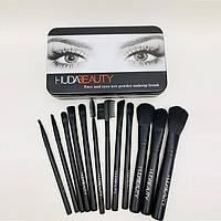 Набор кисточек для макияжа Huda Beauty 12в1, фото 1