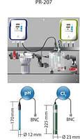 Станция дозированPR-207 Idegis  Интегрированные панели управления контрольная уровня pH/свободного хлора (ppm), фото 1