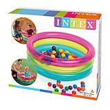 """Детский игровой центр Intex """"Классик с шариками"""" 48674, фото 2"""