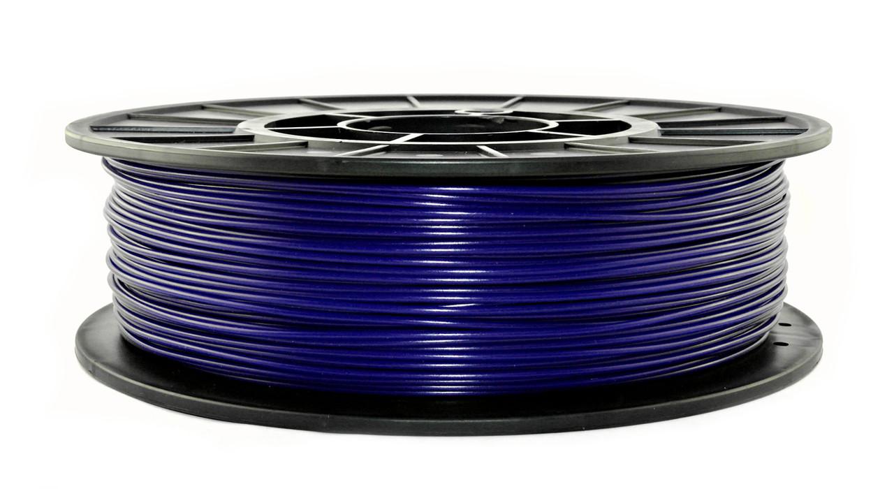 Нить PLA (ПЛА) пластик для 3D печати, Полуночный синий (1.75 мм/0.75 кг)