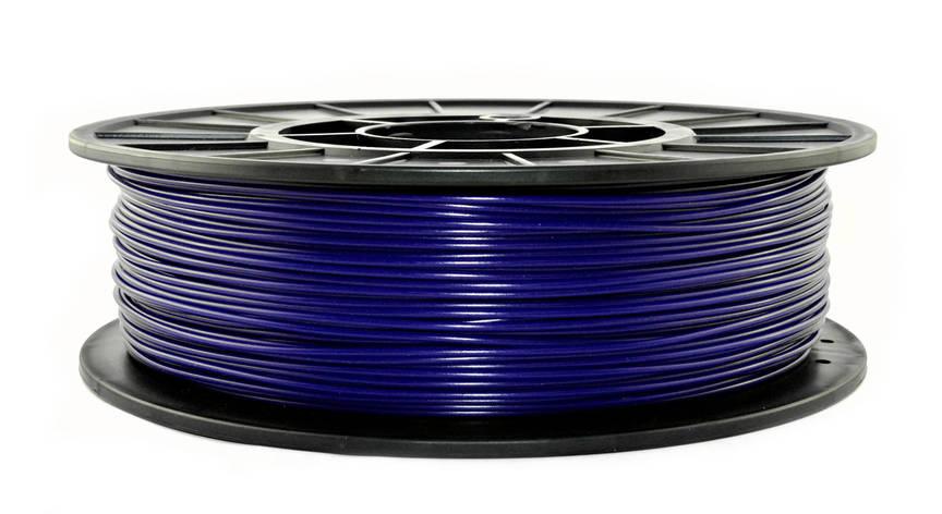 Нить PLA (ПЛА) пластик для 3D печати, Полуночный синий (1.75 мм/0.75 кг), фото 2