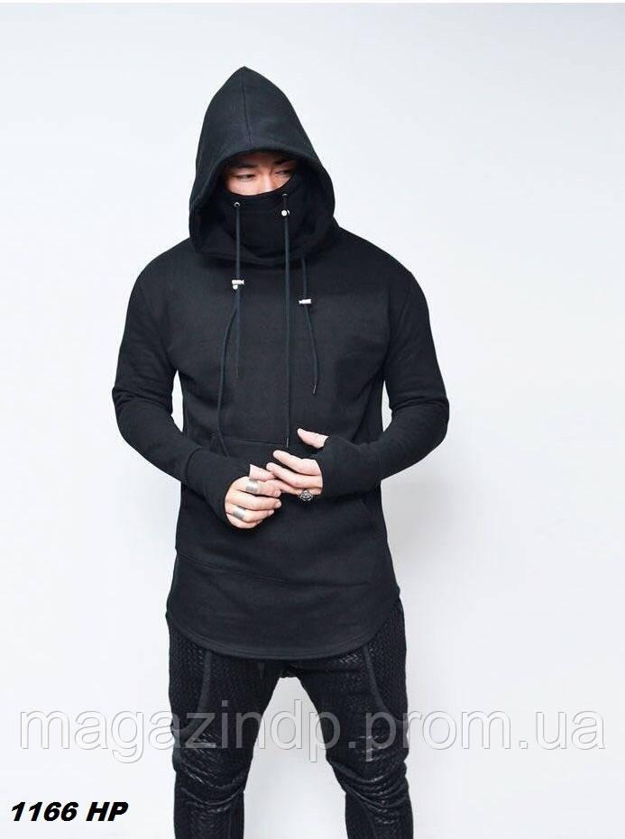 Мужская толстовка с капюшоном рукава перчатки 1166 НР Код:807338997