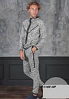 Мужской спортивный лимованный костюм1155 НР Код:807326674