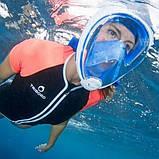 Уникальная подводная маска для снорклинга Easybreath, фото 5