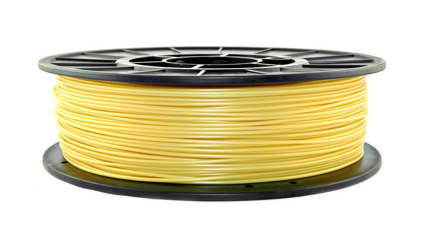 Желтое золото PLA (1.75 мм/0.75 кг), фото 2