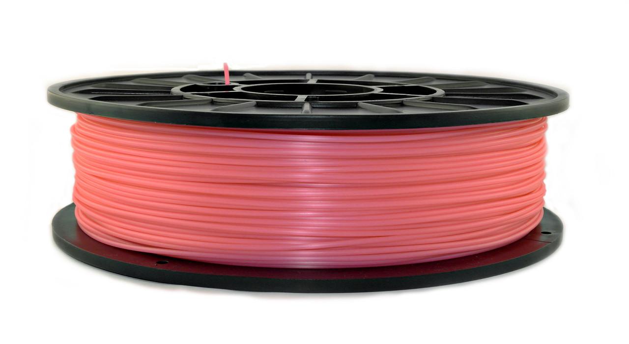 Розовый флюр (светоотражающий) PLA (1.75 мм/0.75 кг)