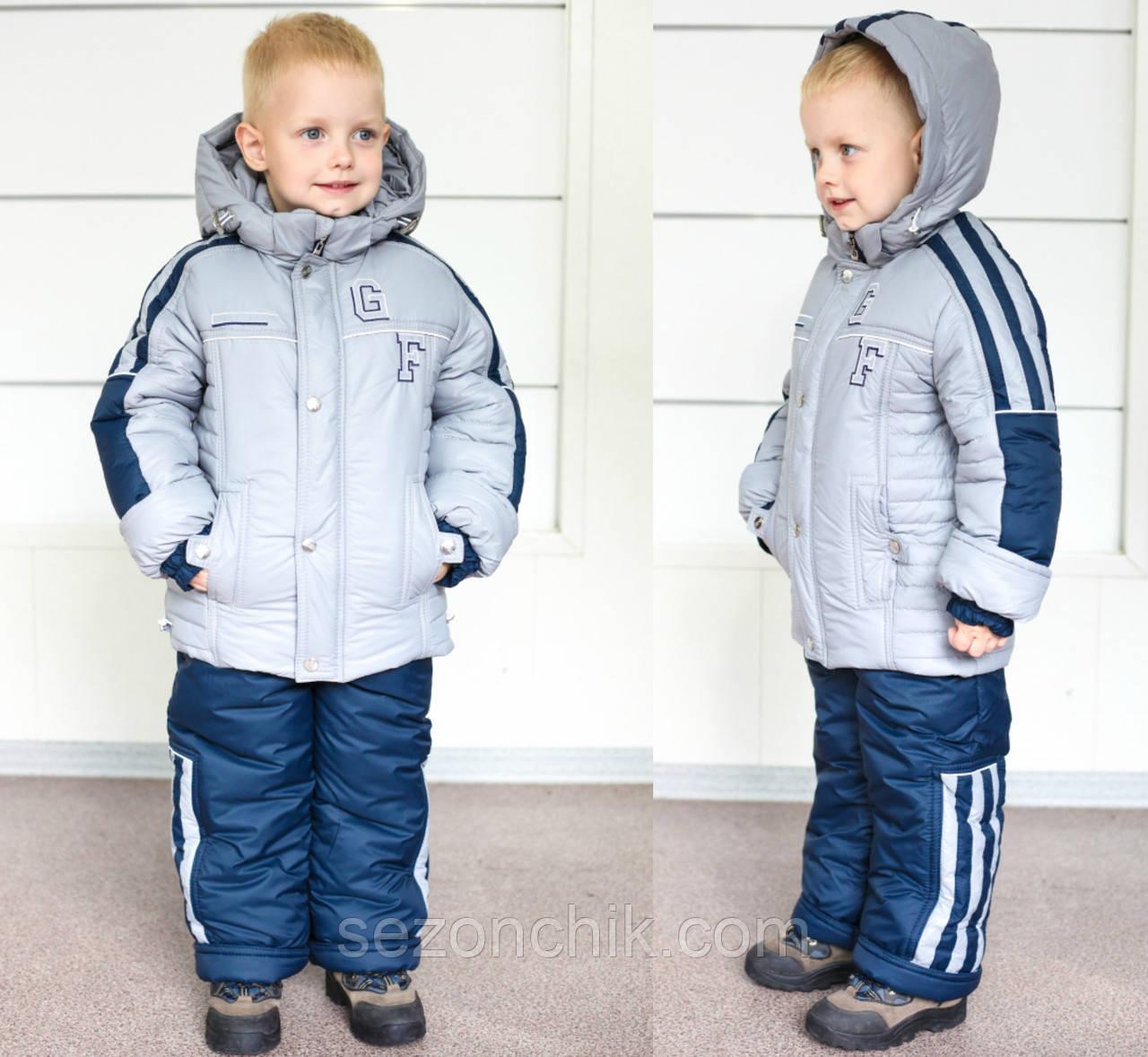 Модный детский комбинезон на мальчиков спорт