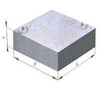 Опорная подушка бетонная ОП - 3