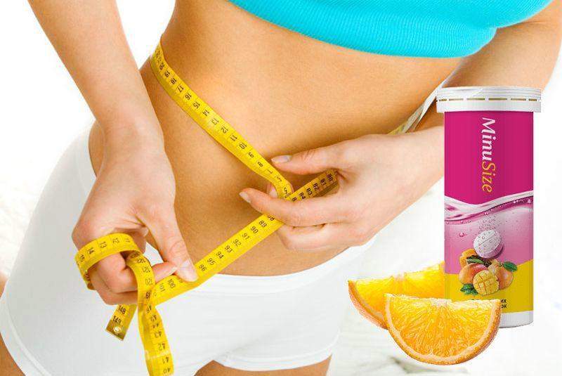 Шипучі таблетки для схуднення MinuSize (МинуСайз)