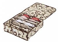 Коробочка на 7 секций с крышкой Молочный Шоколад 103-1022518
