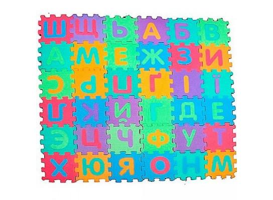 Коврик - пазл напольный Украинский алфавит 197-1912533