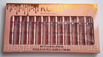 Набор помад Koko by kylie cosmetics Код:693478885
