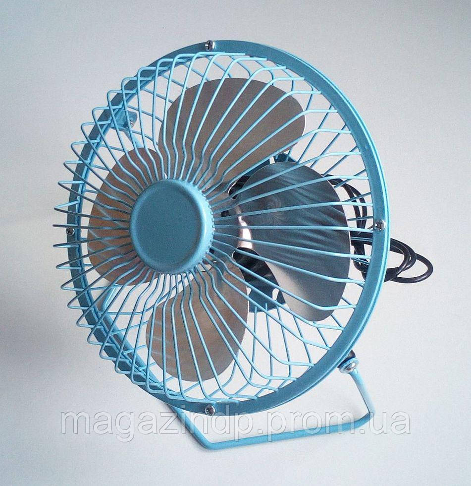 Настольный Usb вентилятор (металлический корпус, диаметр 180мм) Код:475253514