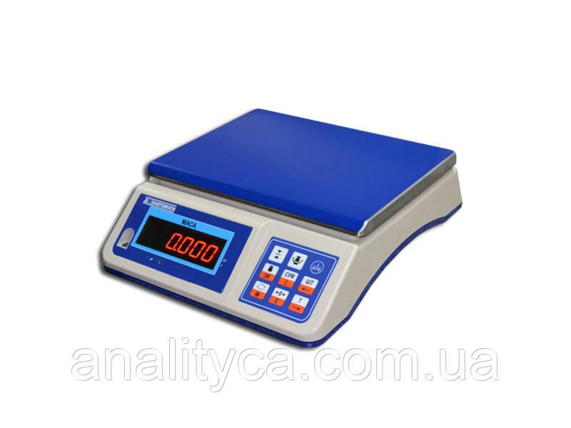 Весы настольные электронные ВТНЕ/1-30H1