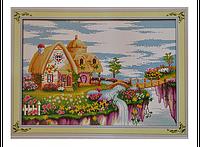 Набор для вышивки картины Сказочная Страна 66х48см 372-37010746