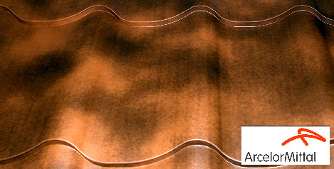 Металлочерепица Монтеррей Антик Anticato PE 0.5