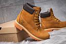 Зимние ботинки  на мехуTimberland 6 Premium Boot, рыжие (30661) размеры в наличии ► [  36 37 39 40  ], фото 5