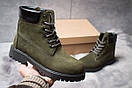 Зимние ботинки  на мехуTimberland 6 Premium Boot, хаки (30662) размеры в наличии ► [  36 37 40  ], фото 2