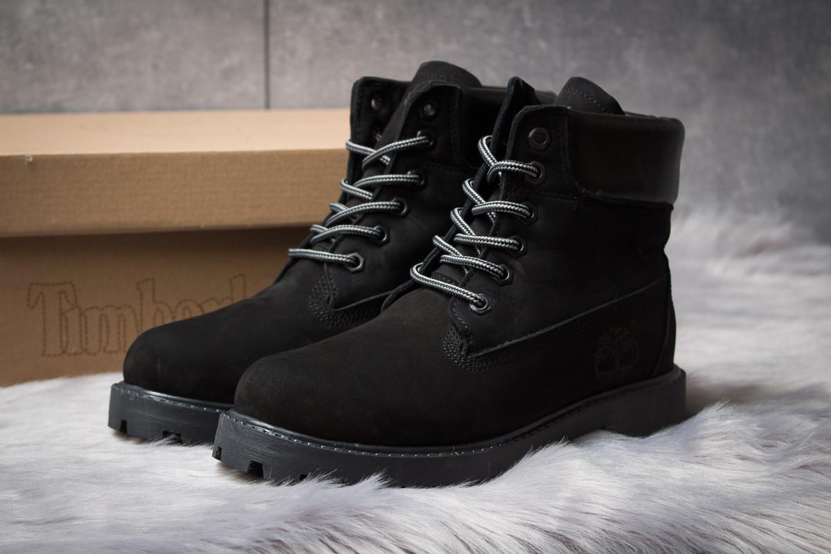 Зимние ботинки  на мехуTimberland 6 Premium Boot, черные (30666) размеры в наличии ► [  36 37  ]
