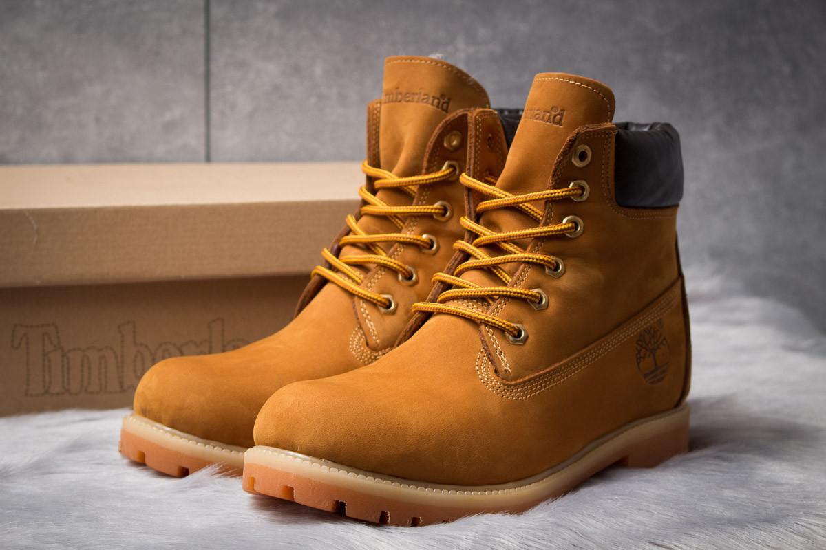 Зимние ботинки  на мехуTimberland 6 Premium Boot, рыжие (30651) размеры в наличии ► [  40 41  ]