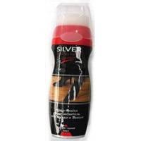 Средство по уходу за обувью Silver жидкая крем краска обновление для нубука и замши черная 75 мл 1 шт