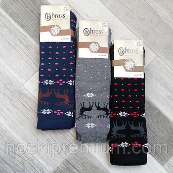Шкарпетки жіночі махрові бавовна Bross, Туреччина, ароматизовані, розмір 36-40, 02494