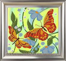 СЧ-709 Бабочки. ТМ Велисса. 22х24 см. Схема для вышивания бисером
