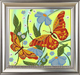 """Схема для вышивания бисером  """"Бабочки"""""""