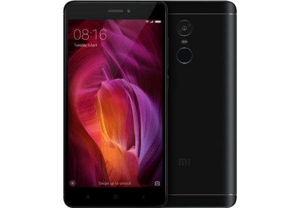 Смартфон Xiaomi Redmi Note 4 3/64GB Black Global Rom