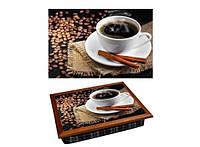 Поднос с подушкой Кофе с корицей 380-9714336