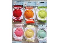 Наколенники яблочко для малышей с мягкими подушечками 227-18915274