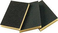 Абразивная губка 2-сторонняя SMIRDEX Grove (грубая), 120x90x10 мм (Смирдекс)