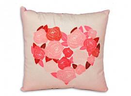 Интерьерная подушка Цветущая любовь 108-8615755