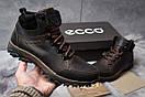 Зимние кроссовки  на мехуEcco Techmotion, коричневые (30711) размеры в наличии ► [  42 43 45  ], фото 2
