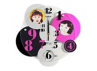 Часы настенные Семейные Кружева разноцветные 110-10816163
