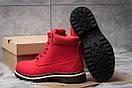 Зимние ботинки  на мехуTimberland Premium Boot, красные (30735) размеры в наличии ► [  39 40  ], фото 4