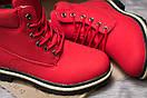 Зимние ботинки  на мехуTimberland Premium Boot, красные (30735) размеры в наличии ► [  39 40  ], фото 6