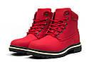 Зимние ботинки  на мехуTimberland Premium Boot, красные (30735) размеры в наличии ► [  39 40  ], фото 7