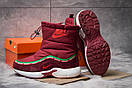 Зимние ботинки  на мехуNike Apparel, бордовые (30632) размеры в наличии ► [  36 (последняя пара)  ], фото 4