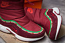 Зимние ботинки  на мехуNike Apparel, бордовые (30632) размеры в наличии ► [  36 (последняя пара)  ], фото 6