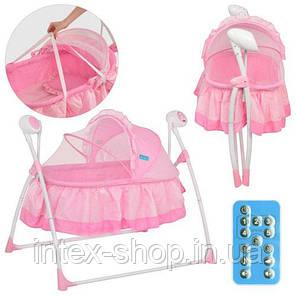 Кровать детская Bambi M 2131-1 Розовая, фото 2