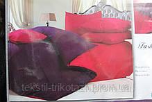 Постельный комплект однотонный №XR-18, двуспальный размер, фото 3