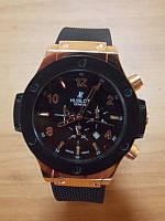 Часы Hublot Geneve King Power Gold кварцевые с хронографом