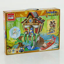 """BRICK 1309 """"Пиратская серия"""" (12) 506 дет, в коробке"""