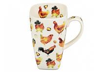 Чашка Петух и курица 720 мл 88-8716956
